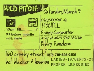 1990 FLYER USA NEW YORK WILD PITCH