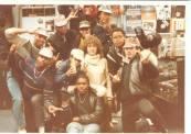 """my hip hop crew circa 1984!"""